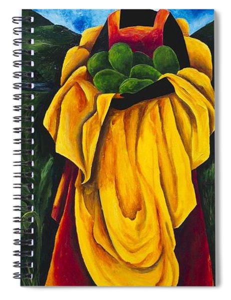 Season Avocado Spiral Notebook