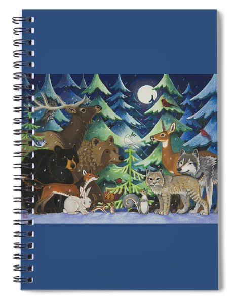 Spirit Of Peace Spiral Notebook