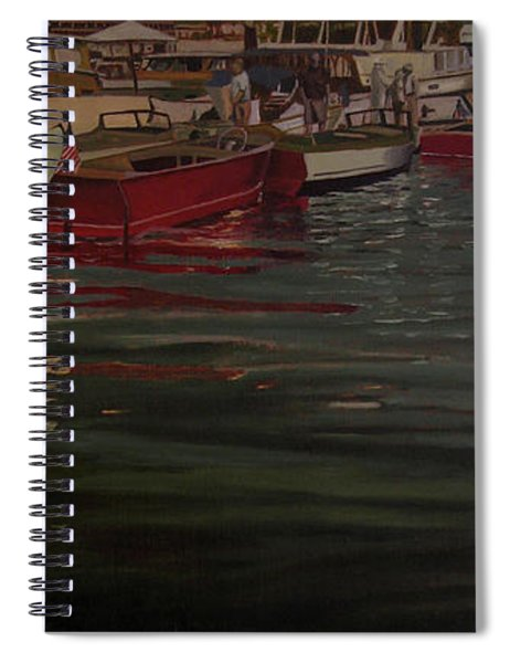 Seattle Boat Show Spiral Notebook