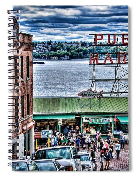 Seattle Public Market 2 Spiral Notebook