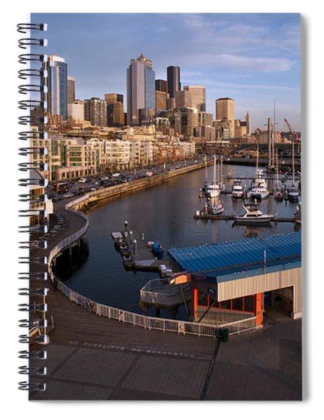 Seattle Waterfront Spiral Notebook