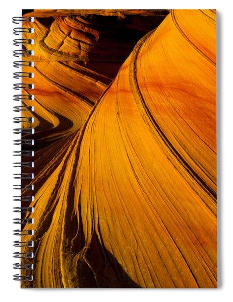 Second Wave Spiral Notebook