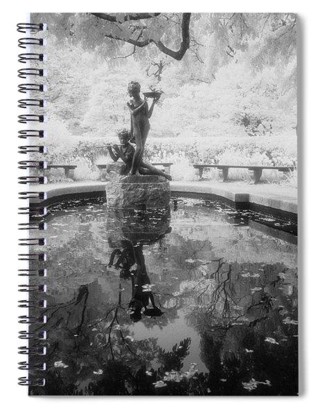 Secret Garden Ir Spiral Notebook