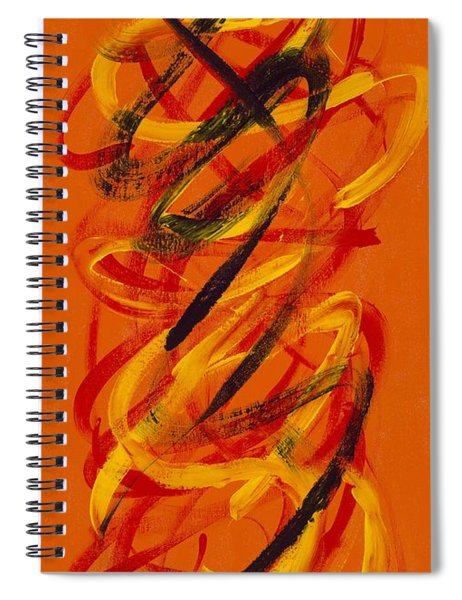 Secret Message Spiral Notebook