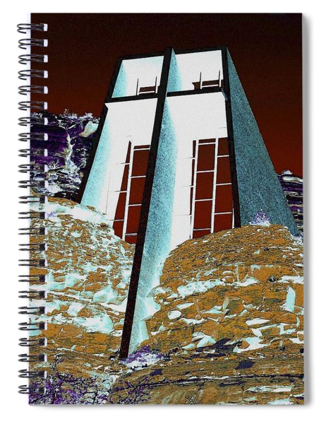 Sedona Rock Church Spiral Notebook