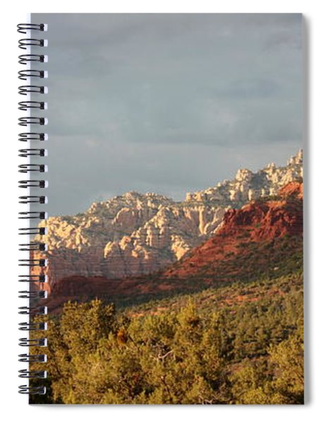 Sedona Sunshine Panorama Spiral Notebook