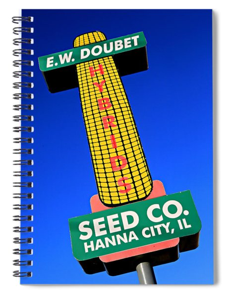 Seed Company Sign 1.4 Spiral Notebook