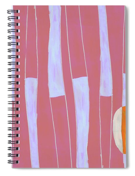 Seed Of Learning No. 4 Spiral Notebook