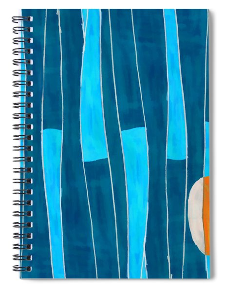 Seed Of Learning No. 5 Spiral Notebook