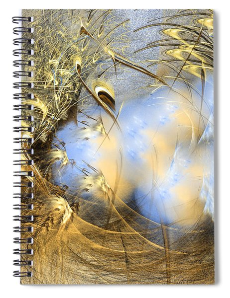 Seeds Of Peace -abstract Art Spiral Notebook
