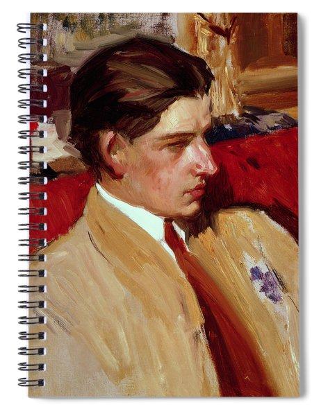Self Portrait In Profile Spiral Notebook