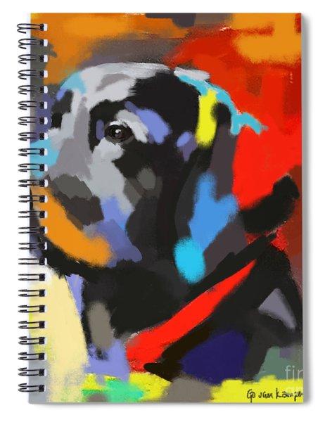 Dog Sem Spiral Notebook