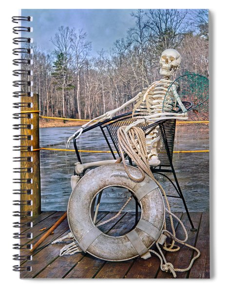 Senior Lifeguard In Charge Spiral Notebook