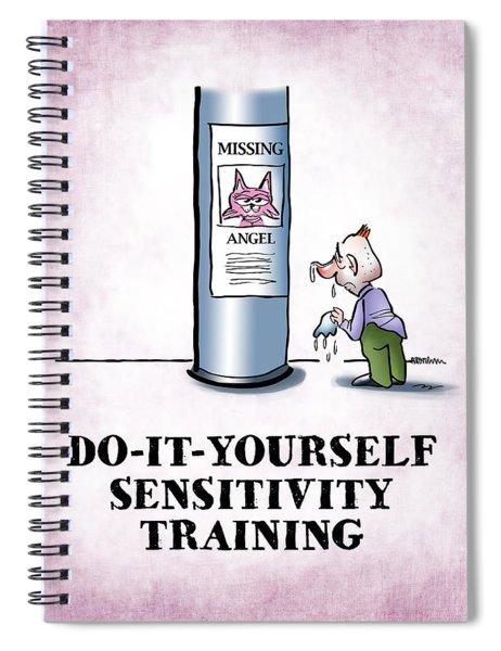 Sensitivity Training Spiral Notebook