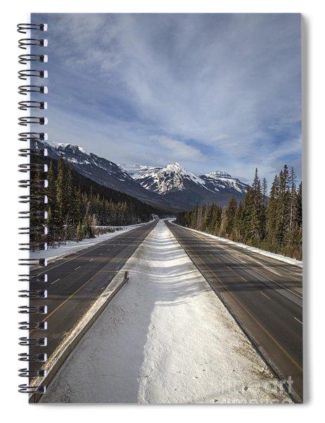 Separate Ways Spiral Notebook