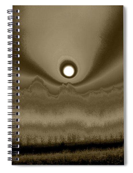 Sepia Sunrise Spiral Notebook