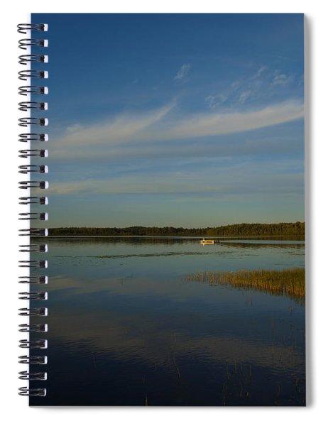 Serene Dive Spiral Notebook