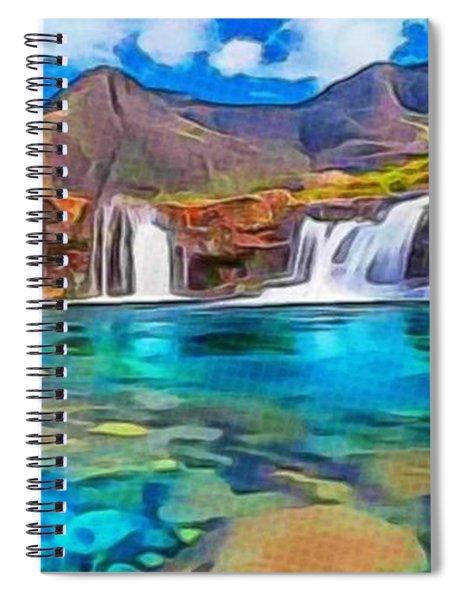Serene Green Waters Spiral Notebook