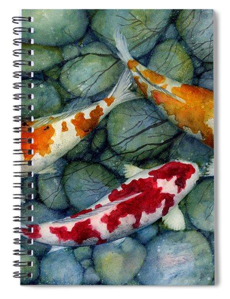 Serenity Koi Spiral Notebook