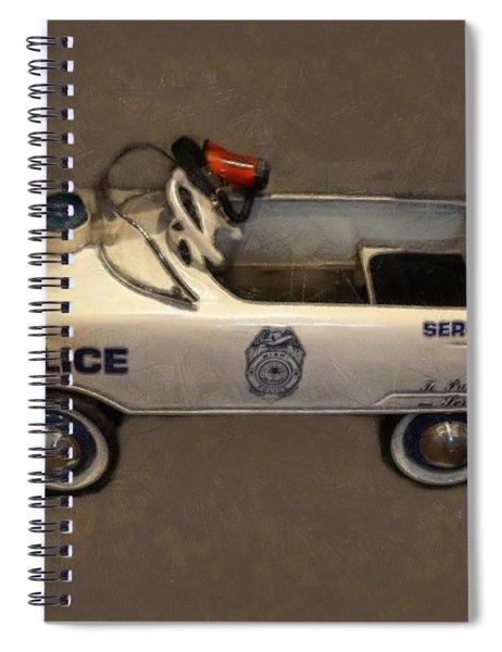 Sergeant Pedal Car Spiral Notebook