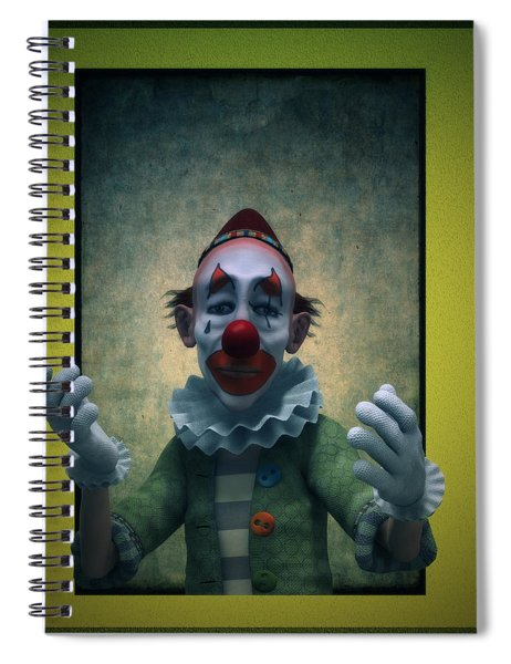 Serious Discourse Spiral Notebook