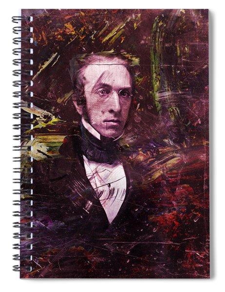 Serious Fellow 1 Spiral Notebook