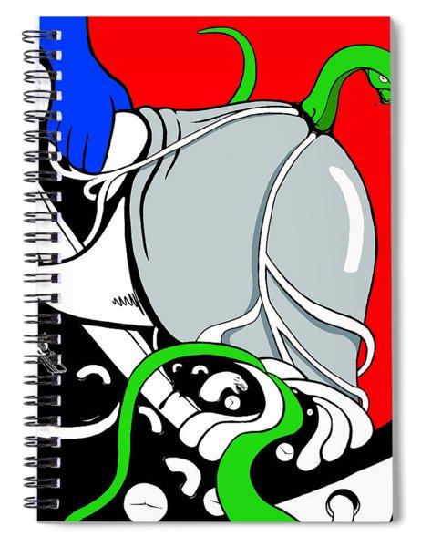 Serpent Of Time Spiral Notebook