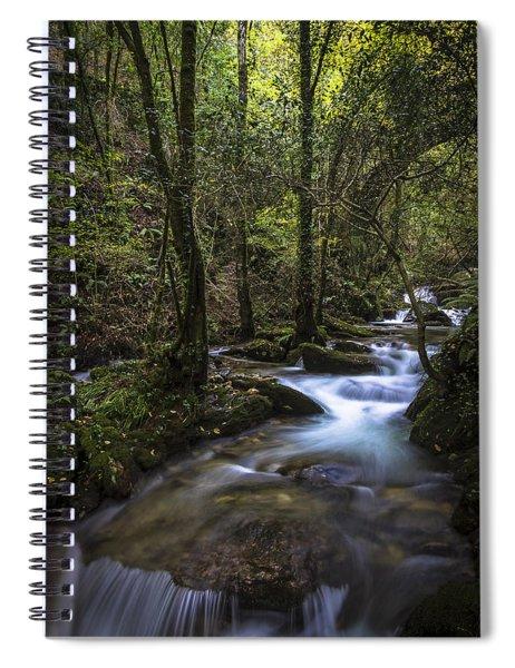 Sesin Stream Near Caaveiro Spiral Notebook