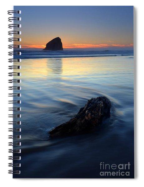 Set In Sand Spiral Notebook