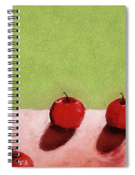 Seven Apples Spiral Notebook by Michelle Calkins