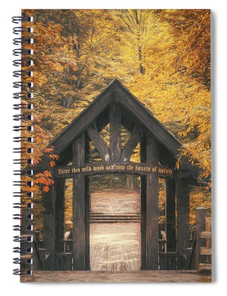 Seven Bridges Trail Head Spiral Notebook