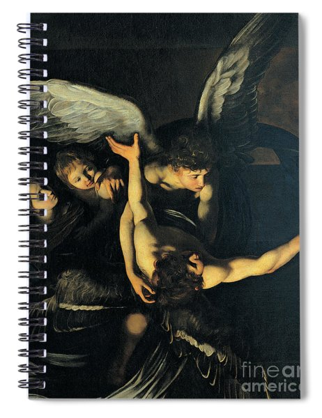 Seven Works Of Mercy Spiral Notebook