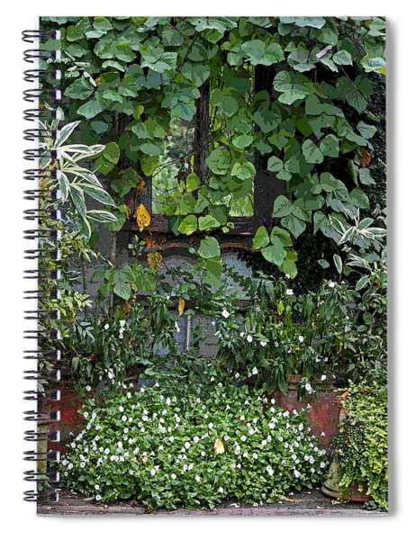 Shabby Chic Jumble Spiral Notebook