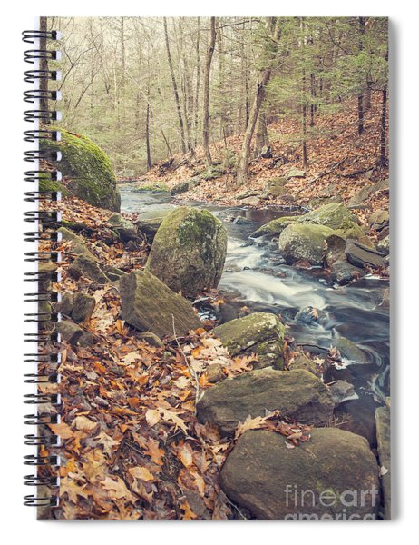 Shade Of November Spiral Notebook