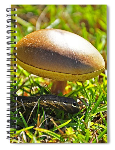 Shade Of The Shroom Spiral Notebook