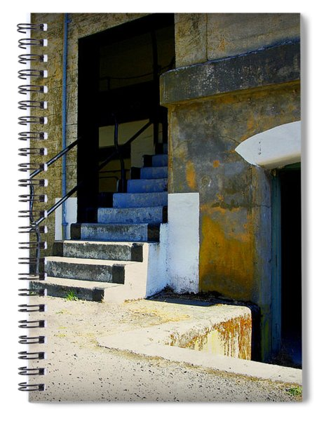 Shades Of The Past Spiral Notebook