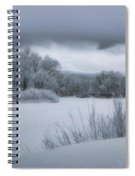 Shades Of Winter Spiral Notebook