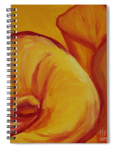 Shadow Lily Spiral Notebook