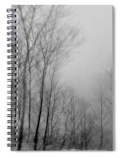 Shadows And Fog Spiral Notebook