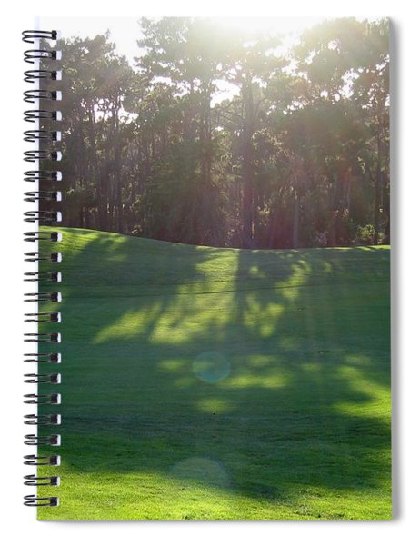 Shadows At Poppy Hills Spiral Notebook