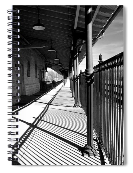 Shadows At The Station Spiral Notebook