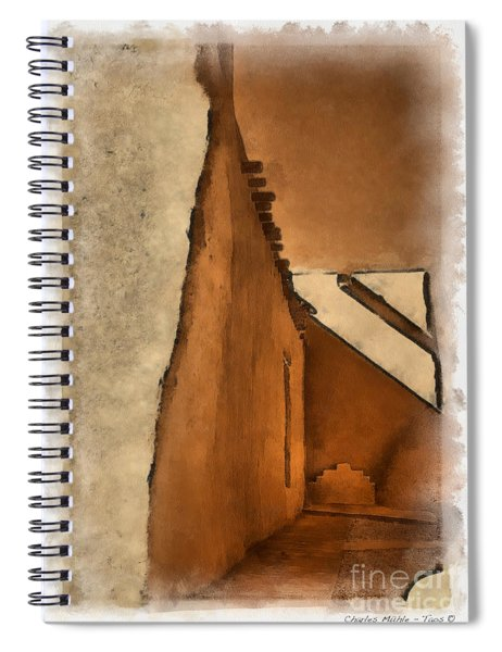Shadows In Aquarell   Spiral Notebook
