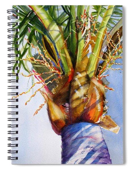 Shady Palm Tree Spiral Notebook
