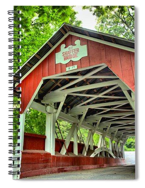 Shafer Covered Bridge Spiral Notebook