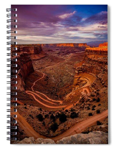 Shafer Trail Vertical Spiral Notebook