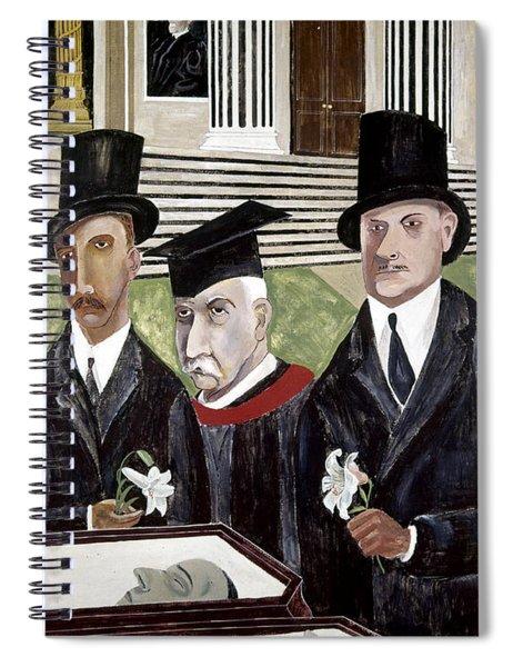 Shahn Sacco And Vanzetti Spiral Notebook