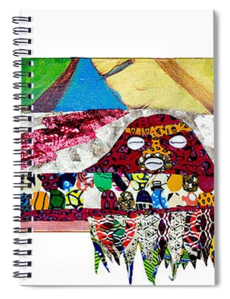 Shango Firebird Spiral Notebook