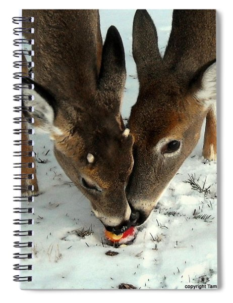 Sharing The Love Spiral Notebook