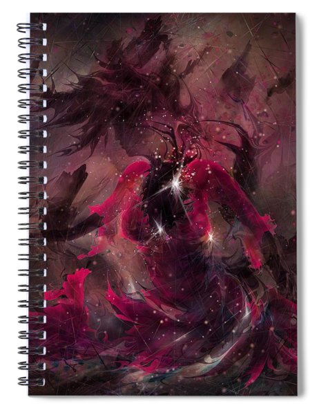 She Is The Storm Spiral Notebook