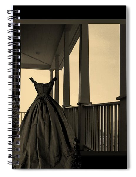 She Walks The Halls Spiral Notebook